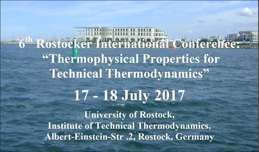 THERMAM-2017 Международная конференция «Теплофизические свойства для технической термодинамики»