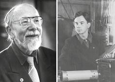 Photographs of V.P. Skripov in 2005 and 1949